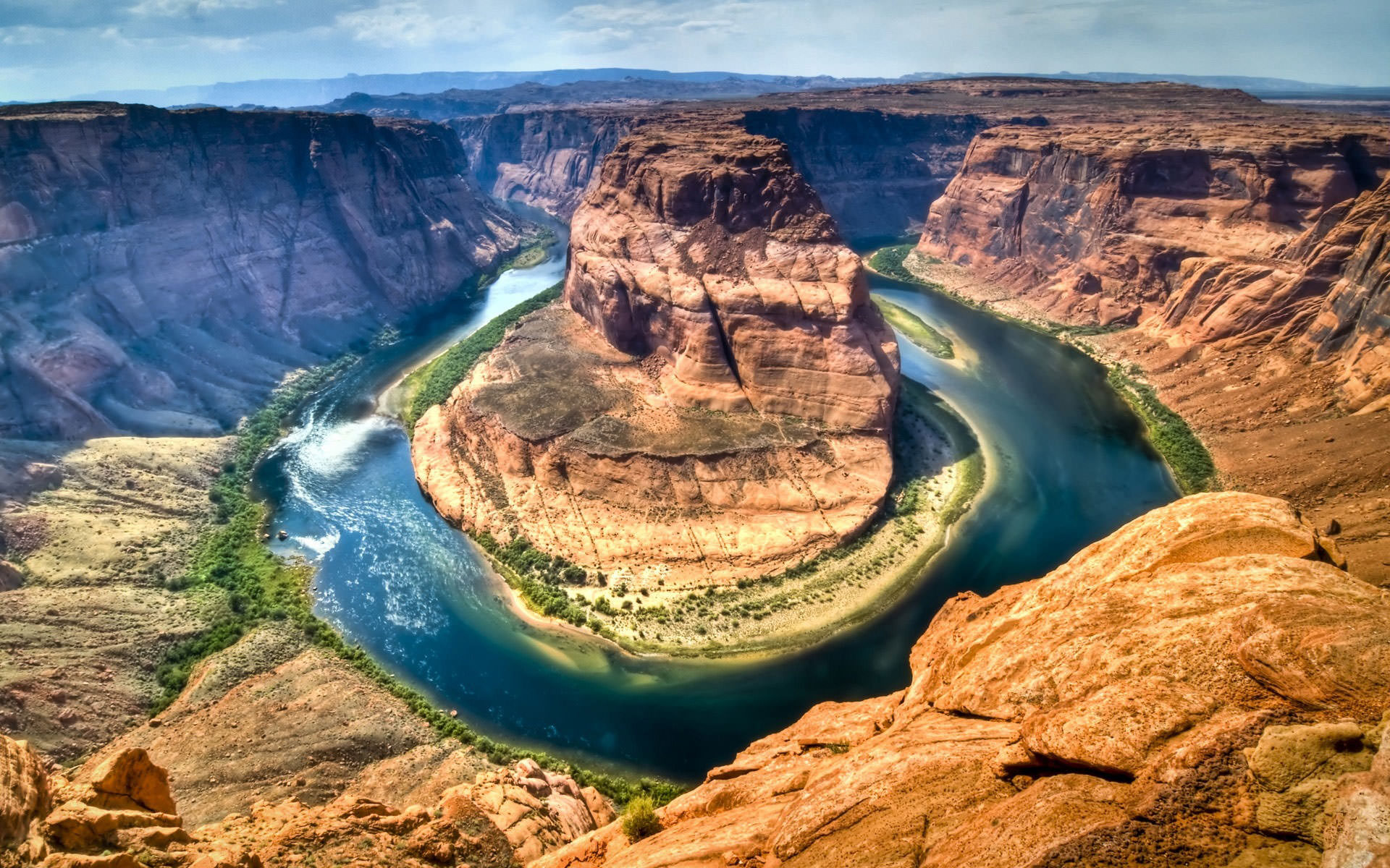 HORSHOE BEND in GRAND CANYON