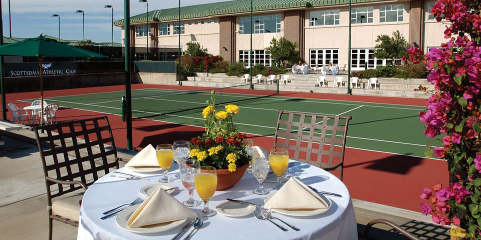 ENJOY THE FINEST TENNIS COURT